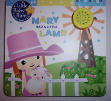 Little Baby Bum Mary Had a Little Lamb Song Sing Along Board Book Musical