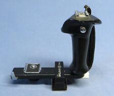 New listing Original Hasselblad Flash L Bracket w/Pro Systems Tripod Mount & Leather Strap