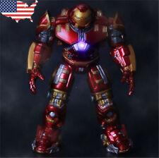 """Us! 7"""" Marvel Avengers 2 Action Figure Age of Ultron Iron Man Hulk Buster Toy"""