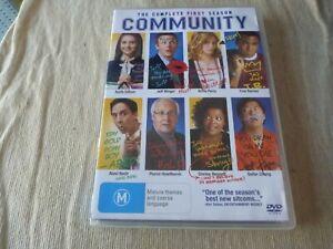Community : Season 1 (4x DVD, 2010) Region 4  Joel McHale  Danny Pudi