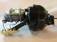 "1964-72 Chevelle 9"" dual brake booster & master cylinder w/4 wheel disc valve"
