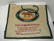 THE TAJ CLUB INDIA  TOTE SHOPPING BAG TIGER LOGO UNUSED