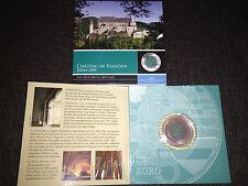 5 Euro Luxemburg 2009 - Burg Vianden - Silber-Niob Münze in PP  - nur 7500 Stück