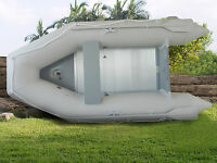 4 Persons PVC 9' Tender Raft Dinghy Inflatable Boat With Floor 1.2 mm US