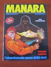 """MILO MANARA """"L'ABOMINEVOLE UOMO DELLE NEVI"""" NUOVA FRONTIERA 1993 OP. COMPLETE 6"""