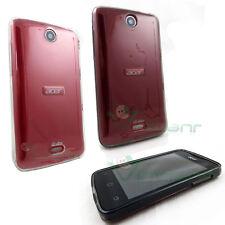 2X Custodia PERFECT FIT pr Acer Liquid Z3 trasparente+grigio fumè dual sim cover