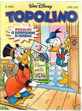 TOPOLINO n. 2008   (con adesivi)