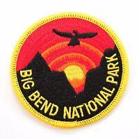 Official Big Bend National Park Souvenir Patch Texas Chihuahuan Desert