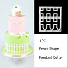 PICKET FENCE cutter sugarcraft biscuit pastry baking fondant cutter cake