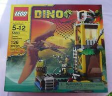 NIB LEGO Dino Tower Takedown (5883) New Factory Sealed Box Dinosaur Lego Kit