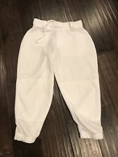 Easton Zone Youth Girl's Fastpitch Softball Pant - White - X Large, Xl