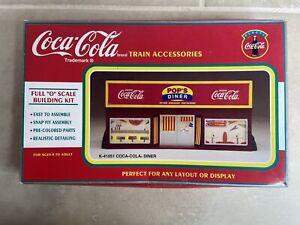 "K-Line Coca-Cola Train Pop's Diner ""O"" Scale Building Kit K-41051 (1995)"