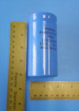 CAPACITOR, Aluminum Electrolytic, 1700UFD, 250VDC, SPRAGUE, 36DX172G250BC