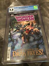 Wonder Woman Annual 4 CGC 9.8 Yara Flor Free Shipping In US Signature Required