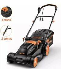 New ListingTacklife Electric Lawn Mower, 14-Inch / 10-Amp Lawn Mower, 6 Adjustable Mowing H