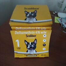 1x Pfizer Scalibor large Dog 6month Flea Ticks Collar 48cm - 6 exp 2021