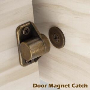Door Stopper Catch Closer Furniture Fittings Rustic Bronze Strong Super Powerful