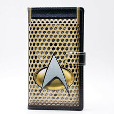 Star Trek Communicator Leather Wallet Card Holder Case For Samsung Galaxy S7