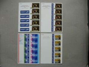 NETHERLANDS, small lot 18x S/S MNH 2000-2001