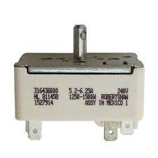 Part For Frigidaire Kenmore Range Burner Infinite Switch Replacement