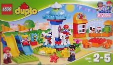 LEGO My Town 10841 Jahrmarkt Karussell Rutschen Familie Kirmes-Bude NEU RAR