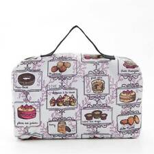 Eco Chic Picnic Blanket White Cake Print Design Foldable Bag Durable Waterproof