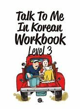 Talk To Me In Korean Workbook Level 3 Get 800 + Free Lessons Hangul Learn Study
