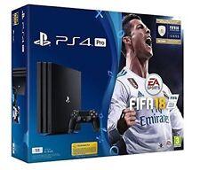 CONSOLE SONY PS4 PRO 1TB BLACK 4K ULTRA HD + FIFA 18 GARANZIA ITALIA