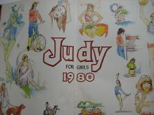 40th Birthday Judy for Girls Annual 1980. Perfect for 40th Birthday- 2020