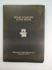 Wrought Iron Range Company St. Louis, Mo. Home Comfort Cook Book & Catalog 1934