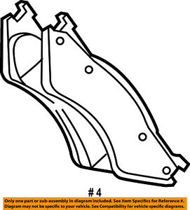 CHRYSLER OEM Brake-Front-Brake Pads 2AMV1350AB