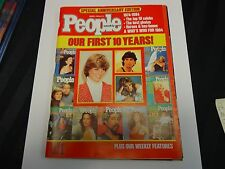 1984 People Weekly Magazine March 5th Our first 10 Years The Top Ten Celebs