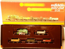 Marklin  Z:  8138 Train Set with Steamloco
