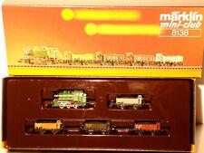 Marklin  Z:  8138 Train Set with Steamloco