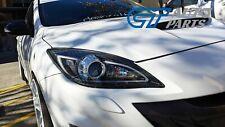 Black 3d Drl Led Projector Headlights For 09 13 Mazda 3 Mps Head Lights Fits Mazda 3
