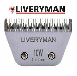 Genuine Liveryman Harmony Horse Clipper Blades Harmony Plus 15W 1.0MM 10W 2.45mm
