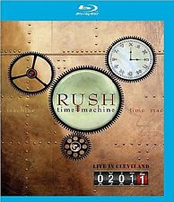 RUSH - TIME MACHINE 2011: LIVE IN CLEVELAND  BLU-RAY NEU