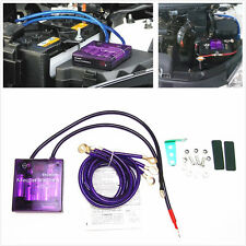 100% New Purple Car SUV Pickup Voltage Stabilizer with Digit Display Universal