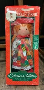 VTG Holiday Hollyberry Scented Holly Hobbie Collectors Edition Doll for Zayre