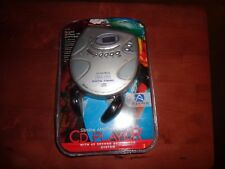 Audiovox Slimline  Personal CD player AM/FM CE 155R 45 Sec Anti-Shock New Sealed