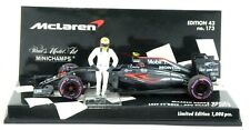 I0200 Minichamps F1 1:43 - 2016 McLaren MP 4/31 #22 Button + figure Ltd.Ed.