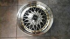"16"" RS Style JNC004 Wheels 16x8 Chrome Platinum Gold Rivets 4x100 4X114 Rims"