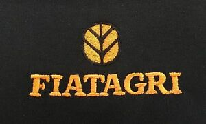 Fiatagri Tractor Embroidered T-Shirt - 48 colours- Small to 3XL