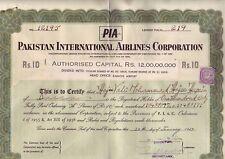 PAKISTAN INTERNATIONAL AIRLINES, 1968, RAR