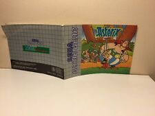 SEGA game gear: Asterix and the secret mission - NOTICE