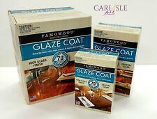 Famowood Glaze Coat Epoxy High Gloss Finish - Crystal Clear - Choose Your Size