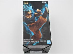 NEW Banpresto Dragon Ball Super Saiyan God SS Goku Z Battle Figure US Seller