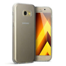 Slim Rubber Bumper Gel Case Cover for New Samsung Galaxy A5 2017 - Clear