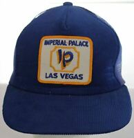 Vintage Imperial Palace Casino Las Vegas, Nevada Patch Corduroy Hat Snapback Cap