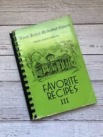 Vintage North United Methodist Church Cookbook North South Carolina 1992